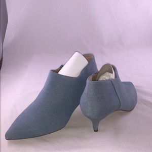 Franco Sarto 8 M Pointed Toe Booties Women's Shoes